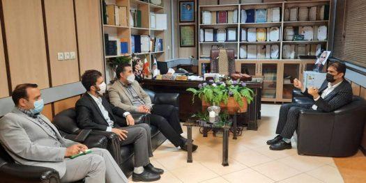 جلسه معاونین اداره پست استان با رئیس اتاق اصناف